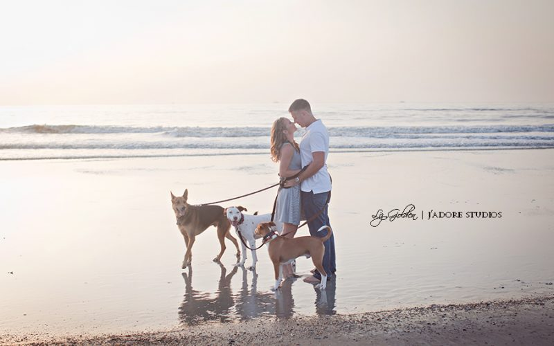 Marissa and Andy's Beach Engagement Session