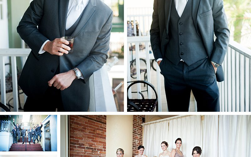Rebecca and Chad's White Room Wedding