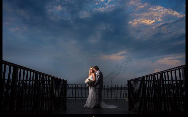 Meghan and James' River House Wedding