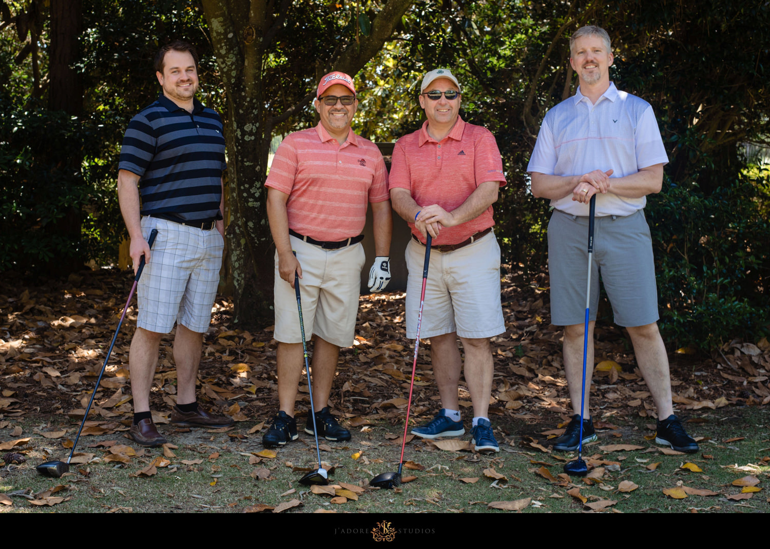 Corporate Event Golf Foursome Group Photo