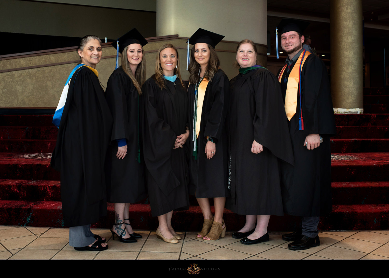 Student cohort group photo - corporate photography