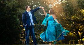 A Modern Love Story | J'adore Studios Jacksonville | Washington Oaks Gardens Florida | Shankeer & Daniel