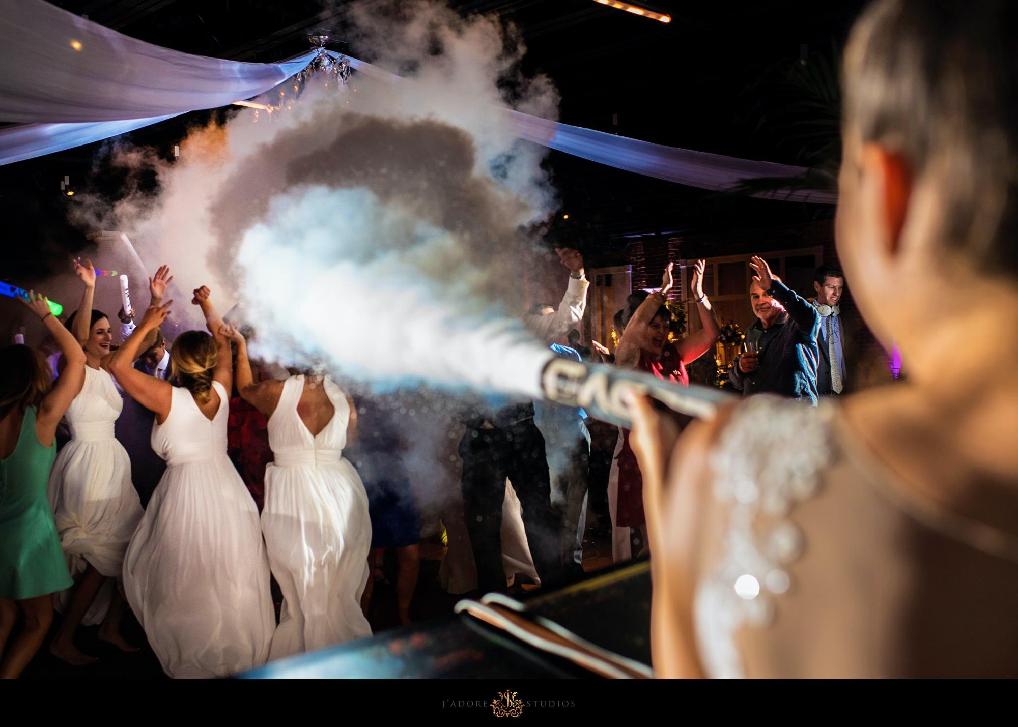 white room Saint Augustine wedding dance floor dj Jacob towe