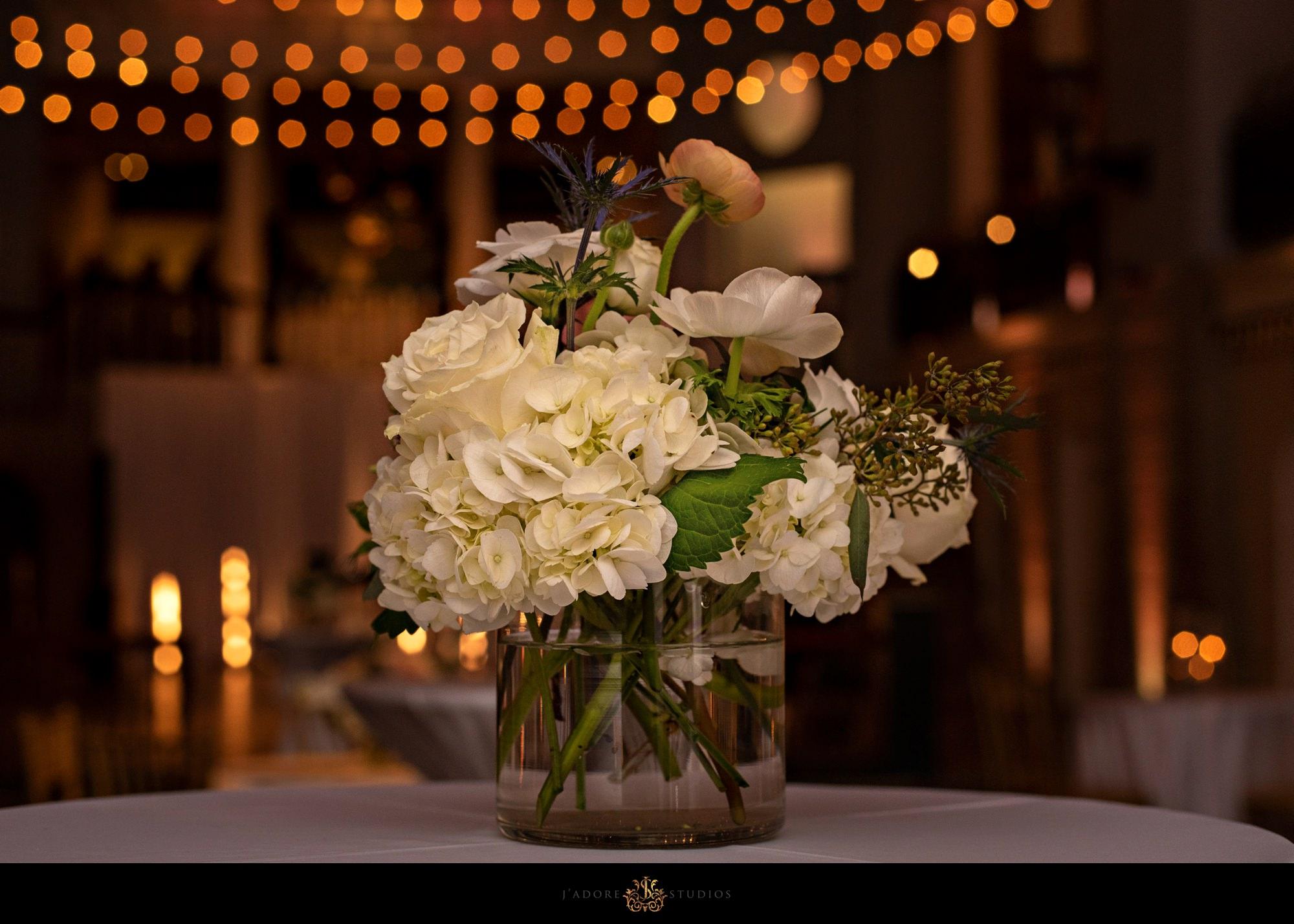 flowers in the lightner museum saint Augustine
